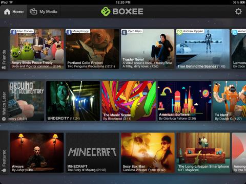 Boxee for iPad