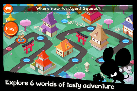 SPY mouse game on the iPhone