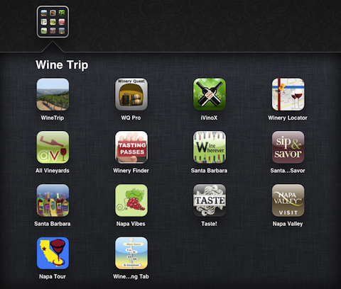 Winery Road Trip apps for your iPhone (Napa Valley and Santa Barbara)