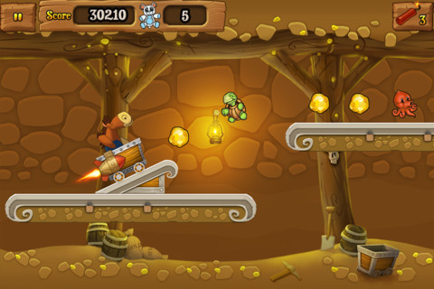 Plushed Gold Fever (iPhone)