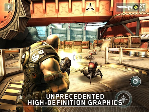 SHADOWGUN iOS game review
