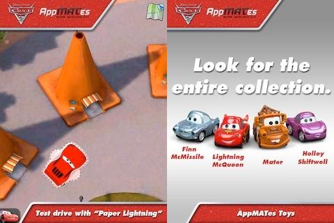 Cars 2 AppMATes iPad app review