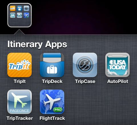 Flight and Trip Itinerary Apps for iPhone