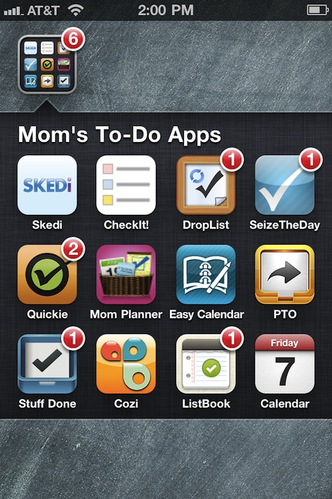 AppList: To-do list iPhone apps for Busy Moms
