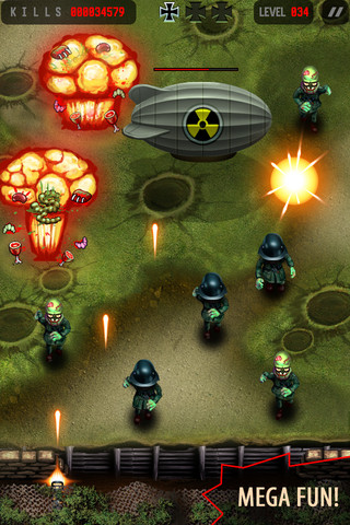 Apocalypse Zombie Commando iPhone app review