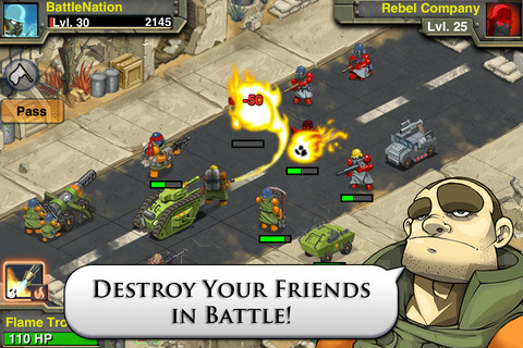 Battle Nations iPhone app review
