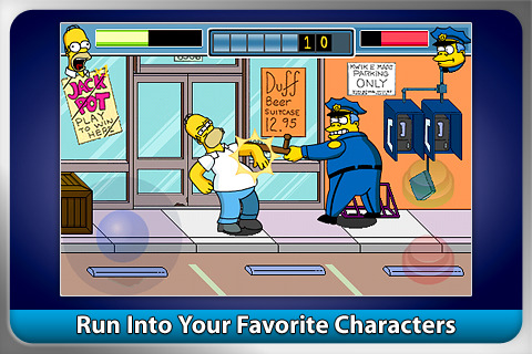 The Simpsons Arcade iPhone game review