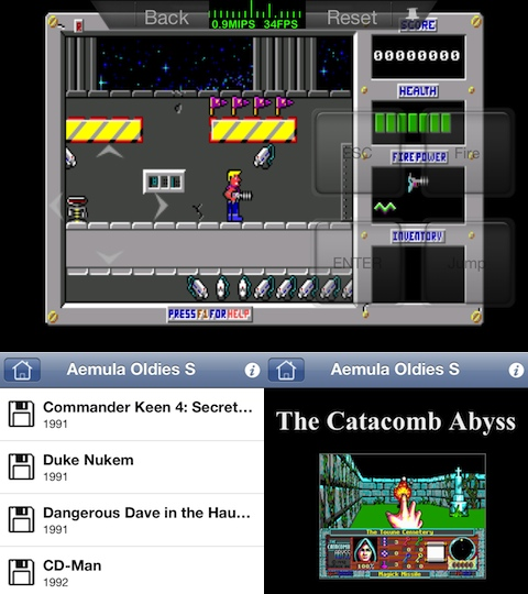 Aemula Oldies S iPhone game review