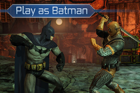 Batman Arkham City Lockdown iOS app review