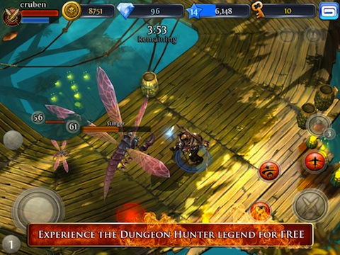 Dungeon Hunter 3 iPhone app review