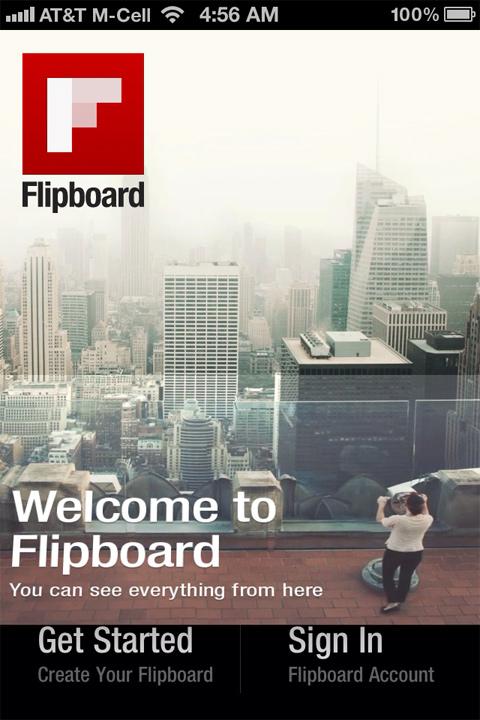 Flipboard iPhone App