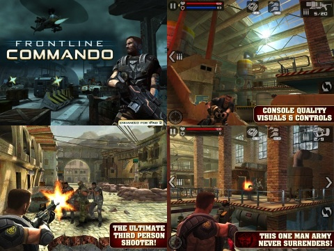 Frontline Commando iPhone game review