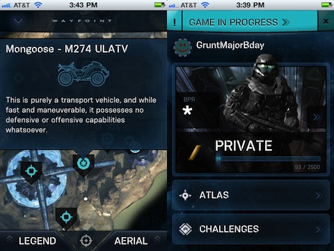 Halo Waypoint iPhone app review