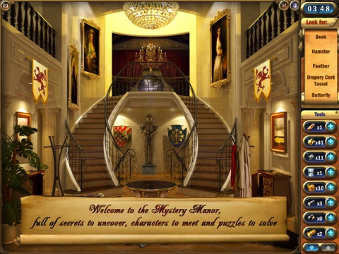 Mystery Manor: Hidden Adventure iPad app review