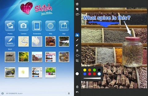 Skitch for iPad app review