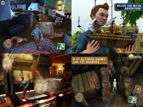 The Adventures of Tintin - The Game iOS game review