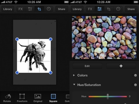 Luminance iPhone app review