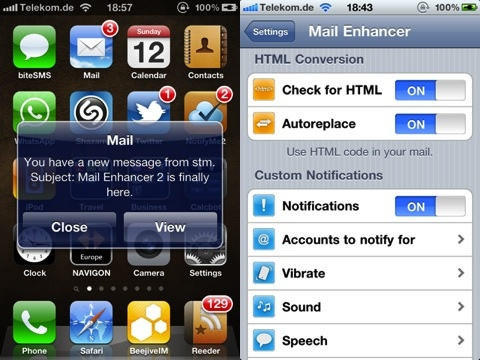 Mail Enhancer jailbreak app review