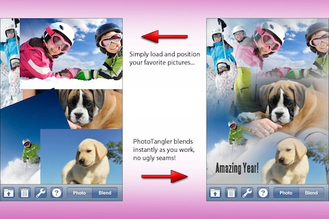 PhotoTangler Collage Maker iPhone app review