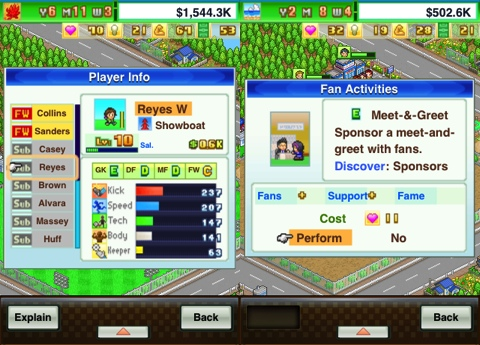 Pocket League Story iPhone app review
