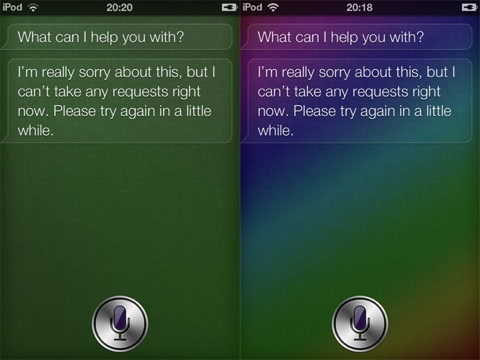Siri Background Colors jailbreak app for iPhone
