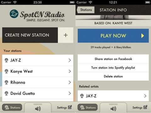 SpotON Radio iPhone app review