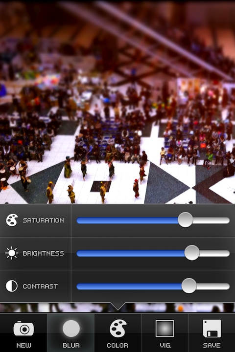 Tilt-Shift Generator iPhone app review