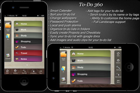 ToDo 360 iPhone app review