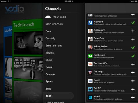 Vodio iPad app review
