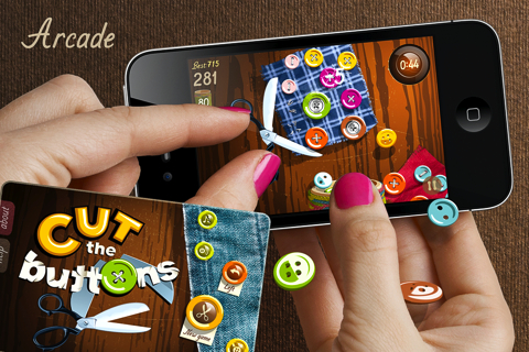 Cut the Buttons iPhone game review