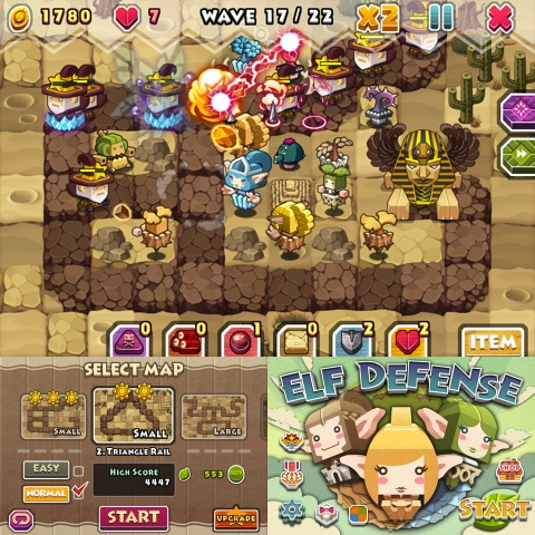 Elf Defense iPhone game review