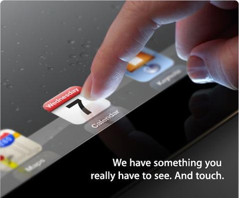 iPad 3 Event