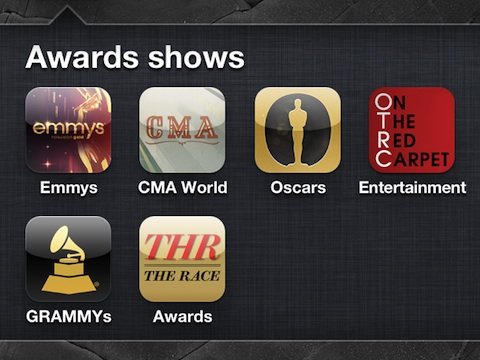 iPhone apps for Award Shows