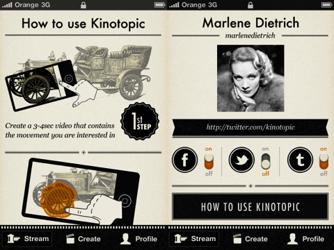 Kinotopic iPhone app review