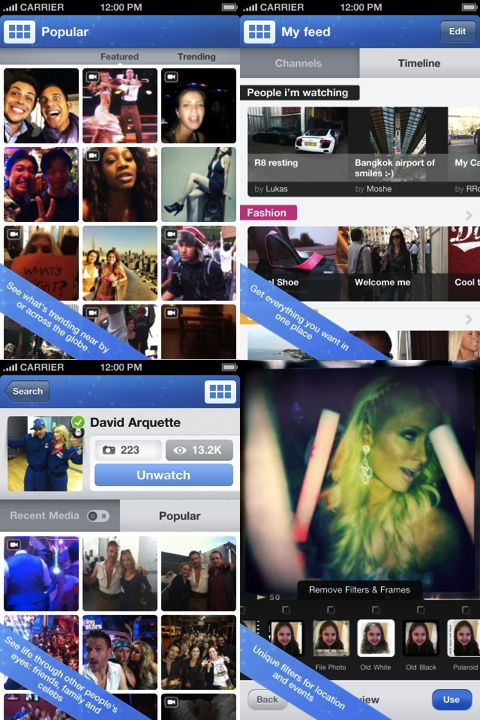 Mobli - Share The Moment iPhone app review