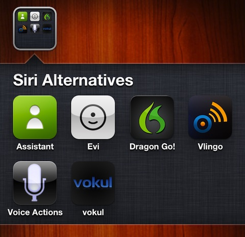 Siri Alternatives Apps for the iPhone