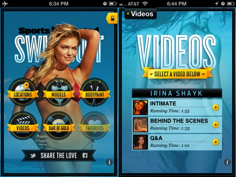 Sports Illustrated Swimsuit 2012 iPhone app