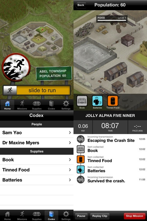 Zombies, Run! iPhone app review