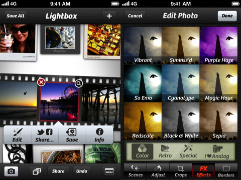 Camera+ iPhone app review version 3