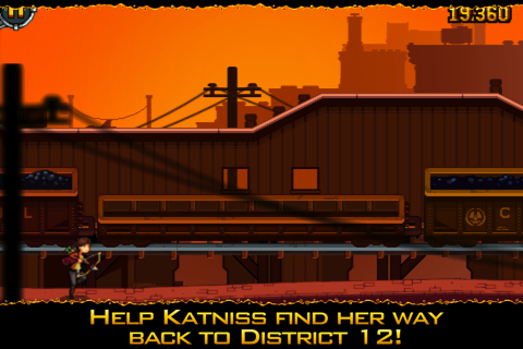Hunger Games: Girl on Fire iPhone app review