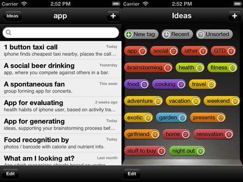 Ideas - Idea generation assistant App Review