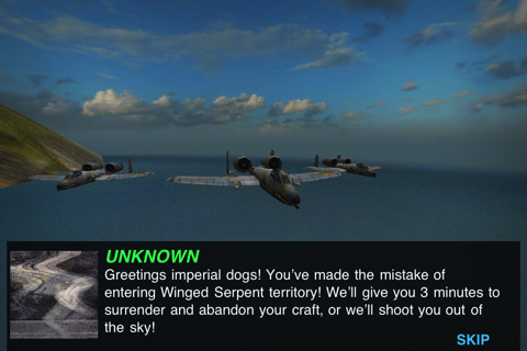 MetalStorm: Wingman iPhone app review
