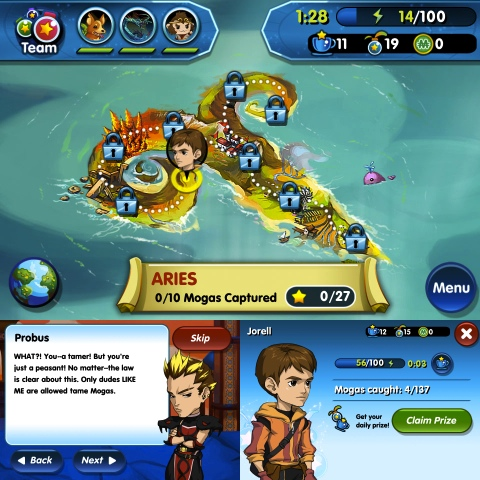 Monster Galaxy: The Zodiac Islands iPhone app review