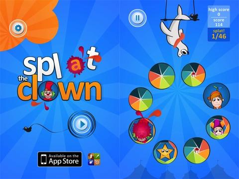 Splat the Clown iPhone app review