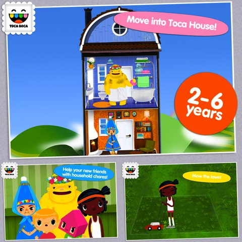 Toca House iPhone app review