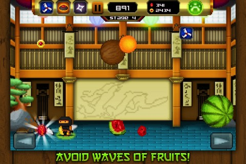 8bit Ninja iPhone game review