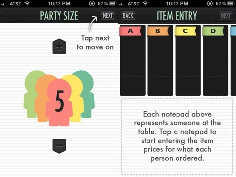 Billr: Bill Splitting at the Table app review