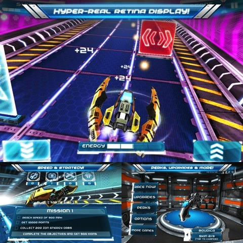 Ion Racer iPhone game review