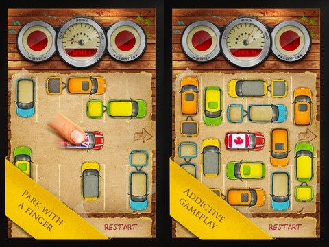 Parking Lot by Crustalli iPad app review