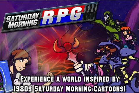 Saturday Morning RPG iPhone game